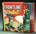 Books:Anthology, The Complete EC Library: Frontline Combat Volumes 1-3 (RussCochran, 1982). Russ Cochran's three volume, slipcased hardcover...