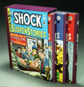 Books:Anthology, The Complete EC Library: Shock Suspenstories Volumes 1-3 (RussCochran, 1981). Russ Cochran's three volume, slipcased hardco...