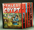 Books:Anthology, The Complete EC Library: Tales from the Crypt Volumes 1-5 (RussCochran, 1979). Russ Cochran's five volume, slipcased hardco...