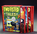 Books:Anthology, The Complete EC Library: Two-Fisted Tales Volumes 1-4 (RussCochran, 1980). Russ Cochran's four volume, slipcased hardcover ...