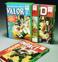 Books:Hardcover, The Complete EC Library: Valor/Impact/M.D. Volumes 1-3 in slipcase(Russ Cochran, 1988). Russ Cochran's three volume, slipca...