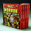 Books:Anthology, The Complete EC Library: Vault of Horror Volumes 1-5 (Russ Cochran,1982). Russ Cochran's five volume, slipcased hardcover s...