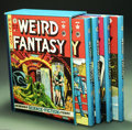 Books:Anthology, The Complete EC Library: Weird Fantasy (Russ Cochran, 1992). RussCochran's four volume, slipcased, Weird Fantasy set re...