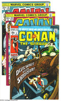 Bronze Age (1970-1979):Miscellaneous, Conan the Barbarian Group (Marvel, 1971-73) Condition: Average VF.This group includes issues #6, 20, and 22-24. Overstreet ...(Total: 5 Comic Books Item)
