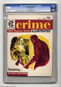 Magazines:Crime, Crime Illustrated #2 (EC, 1956) CGC VG/FN 5.0 Cream to off-whitepages. Reed Crandall cover. Reed Crandall, Jack Davis, Grah...