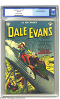 Golden Age (1938-1955):Western, Dale Evans Comics #15 Mile High pedigree (DC, 1951) CGC FN+ 6.5 Off-white to white pages. Alex Toth art. Overstreet 2003 FN ...