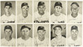 Baseball Collectibles:Photos, 1949 Brooklyn Dodgers Photo Pack (25). The 1949 edition of the team-issued photo pack from the Brooklyn Dodgers features 25...
