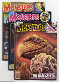 Silver Age (1956-1969):Horror, Famous Monsters of Filmland Group (Warren, 1978-83) Condition:Average VF+. Issues #149, 150, 185, 187, and 191. Not listed ...(Total: 5 items Item)