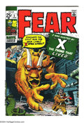 Bronze Age (1970-1979):Horror, Fear #2 (Marvel, 1971) Condition: NM-. Overstreet 2003 NM 9.4 value= $28....