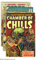 Silver Age (1956-1969):Horror, Horror and Mystery Group (Various) Condition: Average FR/GD.Highlighted by Chamber of Chills #16 and 23, this group als...(Total: 21 Comic Books Item)