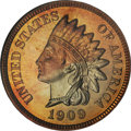 Proof Indian Cents, 1909 1C PR67 Red and Brown NGC....