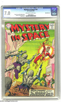 Silver Age (1956-1969):Science Fiction, Mystery in Space #54 White Mountain pedigree (DC, 1959) CGC FN/VF7.0 Off-white to white pages. Gil Kane cover. Carmine Infa...
