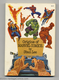 Origins of Marvel Comics 4th Print (Fireside, 1974) Condition: VF. This is a fourth printing, softcover. John Romita Sr...