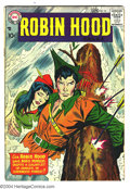 Silver Age (1956-1969):Adventure, Robin Hood Tales #14 (DC, 1958) Condition: GD/VG. Ross Andru cover and art. Overstreet 2003 GD 2.0 value = $35; VG 4.0 value...