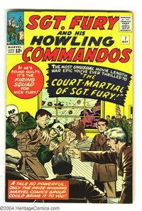 Sgt. Fury and His Howling Commandos #7 (Marvel, 1964) Condition: VF. Is it the firing squad for the Howlers' leader? Fin...
