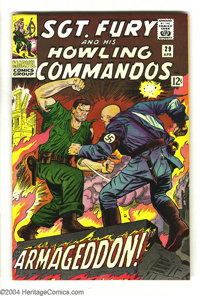 Sgt. Fury and His Howling Commandos #29 (Marvel, 1966) Condition: NM. Cover gloss packs quite a punch. Overstreet 2003 N...