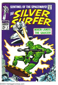 The Silver Surfer #2 (Marvel, 1968) Condition: VF. John Buscema artwork. Double-sized issue. Overstreet 2003 VF 8.0 valu...