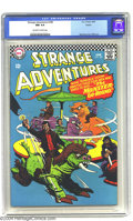 Silver Age (1956-1969):Science Fiction, Strange Adventures #189 Boston pedigree (DC, 1966) CGC NM 9.4 Off-white to white pages. Steve Ditko art. Overstreet 2003 NM ...