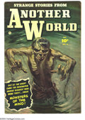 Golden Age (1938-1955):Horror, Strange Stories from Another World #4 (Fawcett, 1952) Condition:VG/FN. Norman Saunders painted cover. Overstreet 2003 VG 4....