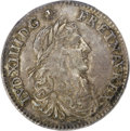 Colonials, 1670-A 5SOL French Colonies 5 Sols AU53 PCGS....