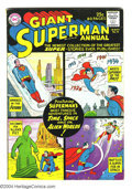 Silver Age (1956-1969):Superhero, Superman Annual #4 (DC, 1961) Condition: VG. First legion of Super-Heroes origins (text and pictures). Curt Swan and Al Plas...