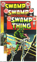 Bronze Age (1970-1979):Horror, Swamp Thing Group (DC, 1972-74). This group consists of sevencomics: #3 (VF/NM) (first appearance of Patchwork Man); 4 (FN/...(Total: 7 Comic Books Item)