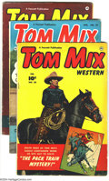 Golden Age (1938-1955):Western, Tom Mix Western Group (Fawcett, 1952) Condition: Average VG+. This lot consists of issues #50, and 52-54. Overstreet 2003 va... (Total: 4 Comic Books Item)