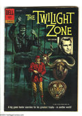 Silver Age (1956-1969):Mystery, Twilight Zone #4 (Gold Key, 1962) Condition: VG. Alex Toth art.Overstreet 2003 VG 4.0 value = $12....