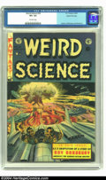 Golden Age (1938-1955):Horror, Weird Science #18 Gaines File pedigree 4/12 (EC, 1953) CGC VF+ 8.5Off-white pages. A dramatic atomic bomb cover by Wally Wo...