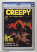 Magazines:Horror, Creepy (Magazine) #2 (Warren, 1965) CGC VF/NM 9.0 Off-white pages. Frank Frazetta cover. Reed Crandall, Angelo Torres, Jack ...