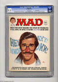 Magazines:Mad, Mad #187 Gaines File pedigree (EC, 1976) CGC NM- 9.2 Off-whitepages. Larry Siegel, Frank Jacobs, and Stan Hart stories. Ang...