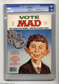 Magazines:Mad, Mad #218 Gaines File pedigree (EC, 1980) CGC VF 8.0 White pages. Larry Siegel and Tom Koch stories. Mort Drucker, Angelo Tor...