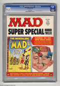 Magazines:Mad, Mad Super Special #12 (EC, 1974) CGC NM+ 9.6 White pages. IncludesNostalgic Mad #2. Highest grade yet assigned by CGC f...