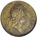 Colonials, 1722 PENNY Rosa Americana Penny, VTILE MS61 Brown NGC....
