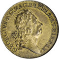 Undated 2PENCE Rosa Americana Twopence, Label--Improperly Cleaned--NCS. Unc. Details....(PCGS# 92)
