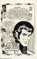Original Comic Art:Covers, Art Cappello - Original Cover Art for For Lovers Only #70(Charlton, 1972). Forget about the torrid love scene depicted ont...