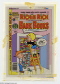 Original Comic Art:Miscellaneous, Color Separations for Richie Rich Bank Books #39 Cover (Harvey,1970s). A very interesting item, these are the CMYK color se...
