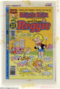 Original Comic Art:Miscellaneous, Color Separations for Richie Rich and Reggie #1 Cover (Harvey,1970s). A very interesting item, these are the CMYK color sep...