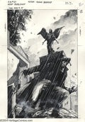 "Original Comic Art:Covers, Jackson ""Butch"" Guice - Original Art Cover for Resurrection Man #27(DC, 1999). A very moody washtone cover by Butch Guice. ..."