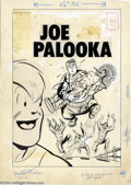 Original Comic Art:Covers, Warren Kremer (Attributed) - Original Cover Art for Joe Palooka#108 (Harvey, 1958). Humphrey stars on this Joe Palooka cove...