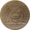 Colonials, 1787 1C Fugio Cent, STATES UNITED, Eight-Pointed Stars MS63 BrownNGC....