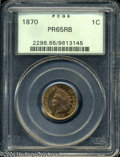 Proof Indian Cents: , 1870 PR 65 Red and Brown PCGS. The current Coin Dealer ...