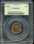 Proof Indian Cents: , 1870 PR 65 Red PCGS. The current Coin Dealer Newsletter (...