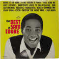 "Music Memorabilia:Autographs and Signed Items, ""The Best Of Sam Cooke"" Autographed LP (RCA 2625, 1962). Since thegreat Rock/R&B original died in 1964, two years after the..."