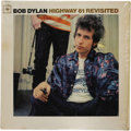 "Music Memorabilia:Recordings, Bob Dylan ""Highway 61 Revisited"" Promo Mono LP (Columbia 2389,1965). Folk Rock was officially in full bloom as Dylan electr..."