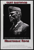 "Movie Posters:War, Heartbreak Ridge (Warner Brothers, 1986). One Sheet (27"" X 40"")Advance. War. Starring Clint Eastwood, Marsha Mason, Everett..."