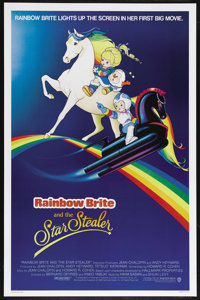 """Rainbow Brite and the Star Stealer (Warner Brothers, 1985). One Sheet (27"""" X 40"""") Advance. Animated Fantasy. S..."""