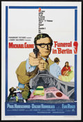 "Movie Posters:Action, Funeral in Berlin (Paramount, 1966). One Sheet (27"" X 41""). Spy Thriller. Starring Michael Caine, Paul Hubschmid, Oskar Homo..."