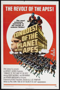 """Movie Posters:Science Fiction, Conquest of the Planet of the Apes (20th Century Fox, 1972). OneSheet (27"""" X 41"""") Style A. Sci-Fi Action. Starring Roddy Mc..."""