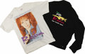 "Music Memorabilia:Autographs and Signed Items, Reba McEntire Signed Shirt With Tour Jacket. Includes a t-shirtsigned ""Reba"" on the right shoulder in black marker, plus a ..."